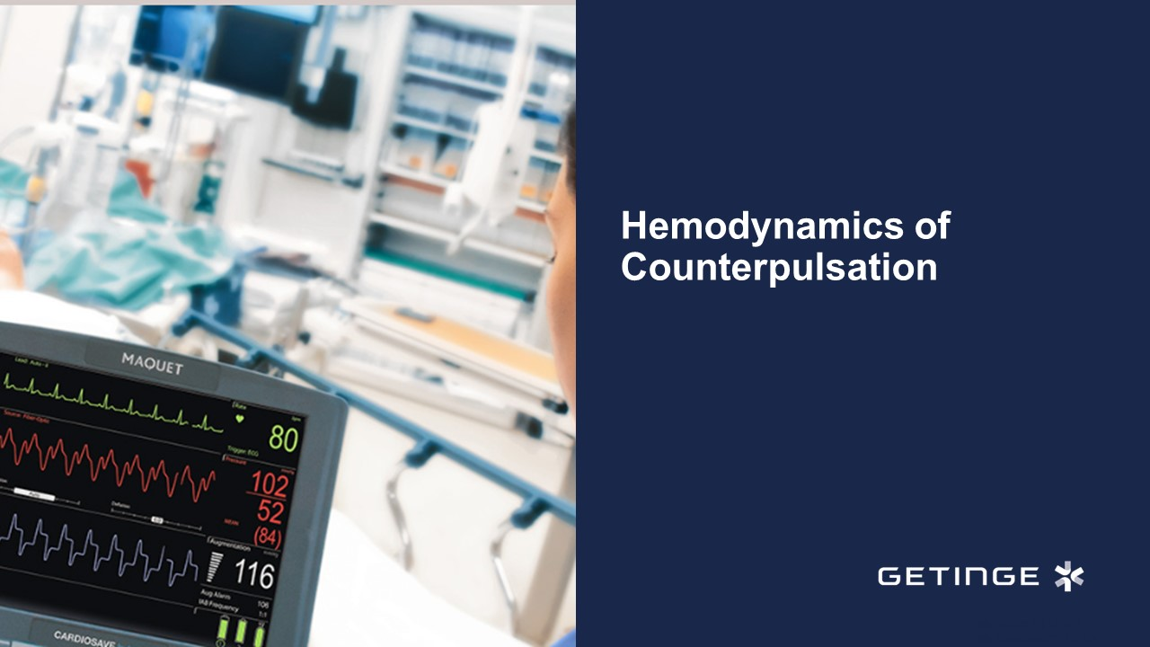 Hemodynamics of Counterpulsation PowerPoint