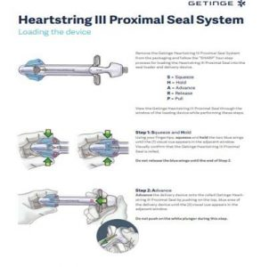 Heartstring III Proximal Seal System - Loading the Device Guide