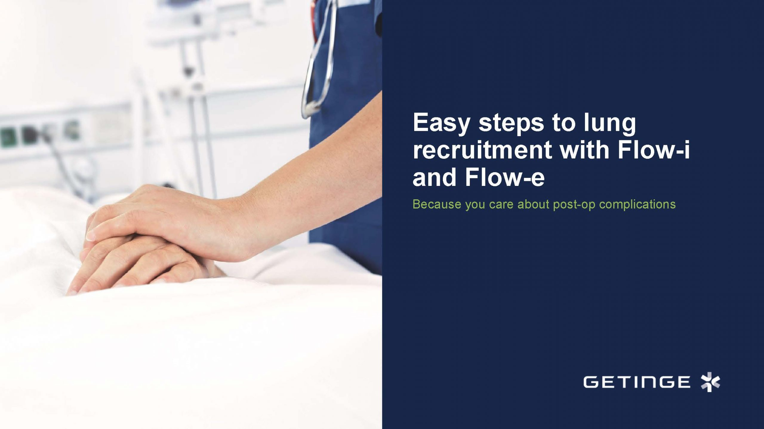 Easy Steps to Lung Recruitment with Flow-i and Flow-e